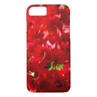 floral collection. red iPhone 8/7 case