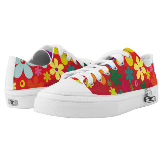 Floral colorful Low-Top sneakers