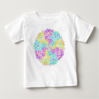 Floral colourful arrangement baby T-Shirt