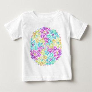 Floral colourful arrangement baby T-Shirt