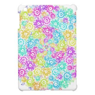 Floral colourful arrangement case for the iPad mini