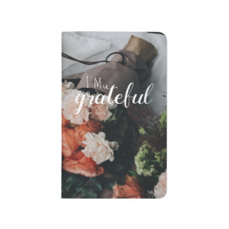floral cool trendy hipster gratitude journal
