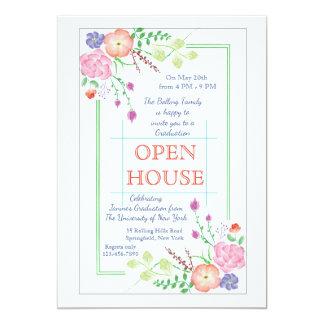 Floral Corners Invitation