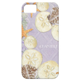 Floral Cottage by the Sea Shells Beachy Name iPhone 5 Case