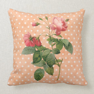 Floral country vintage throw pillow