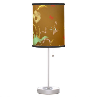 floral craft, holiday, elegant, ,color,homdecor, table lamp