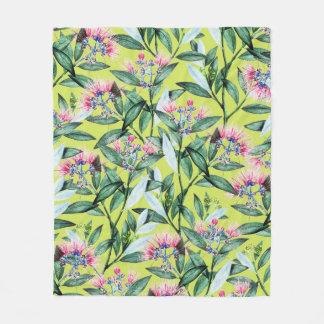 Floral Cure Fleece Blanket