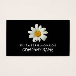 Floral Daisy Business Card