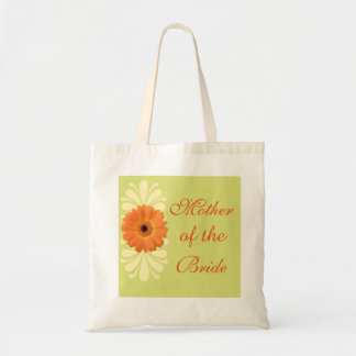Floral Daisy Mother of the Bride Wedding Tote Bag