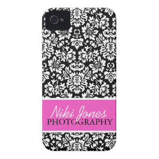 Floral Damask | Pink iPhone 4 Covers
