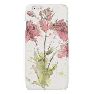 Floral Dark Pink Splash