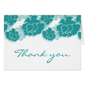 Floral Decadence Thank You Card