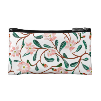 Floral Deco Cosmetic Bag