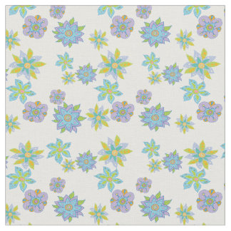 Floral deco fabric