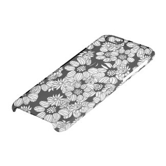 Floral decor clear iPhone 6/6S case