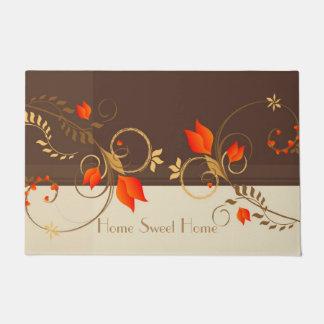 Floral Decor Doormat