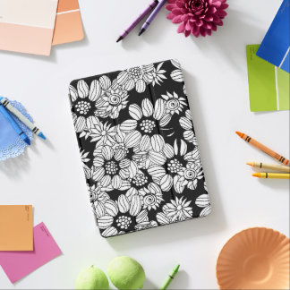 Floral decor iPad air cover
