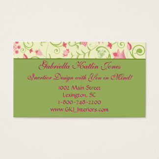 Floral Delight Business Card