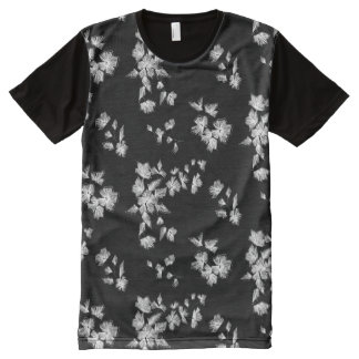 Floral design All-Over-Print T-Shirt