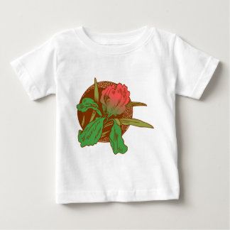 Floral Design Baby T-Shirt
