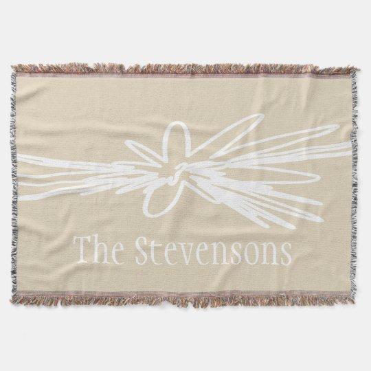 Floral Design Blanket Throw Blanket