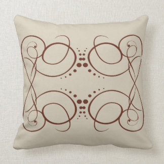 Floral Design by Madison Polyester Throw Pillow