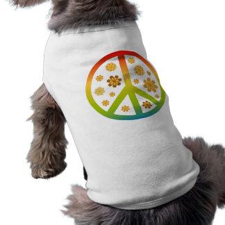 Floral Design Doggie Tshirt
