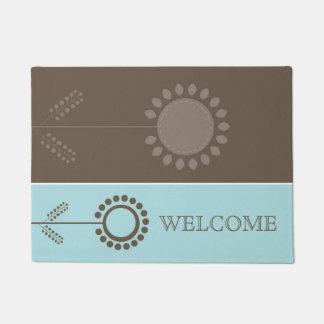Floral Design Doormat