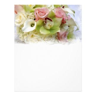 floral design letterhead