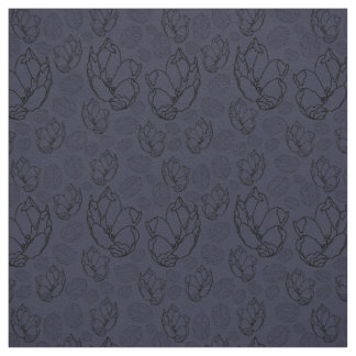 Floral Design on Cotton Twill Fabric