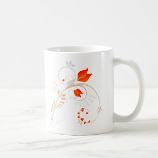 Floral Design - Valentines Coffee Mug