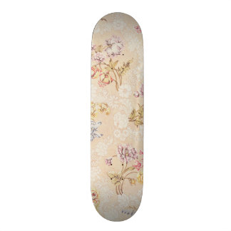 Floral design with peonies, lilies and roses for S Skateboards