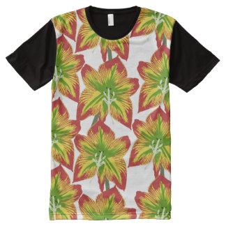 Floral Designer Modern Men's Apparel Shirt