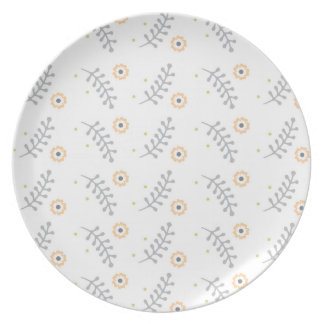 Floral Dinnerware Plate