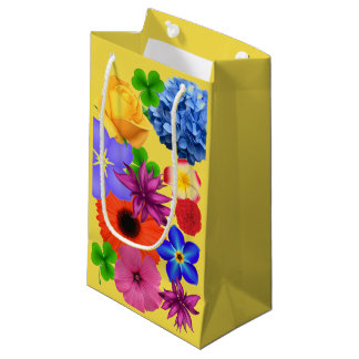 Floral Display Small Gift Bag