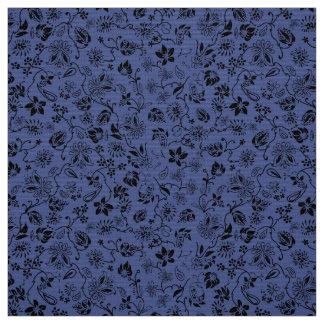 Floral ditsy elegant rustic violet  pattern DIY Fabric