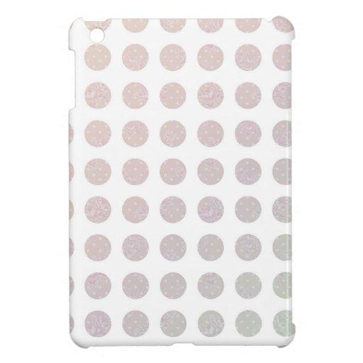 Floral Dots iPad Mini Cover