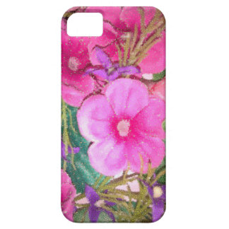 Floral dots iPhone 5 cases