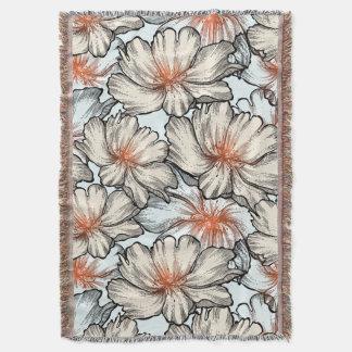 Floral Dreams #10 at Susiejayne Throw Blanket