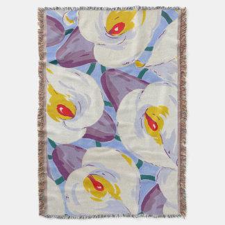 Floral Dreams #11 at Susiejayne Throw Blanket