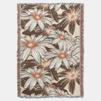 Floral Dreams #12 at Susiejayne Throw Blanket