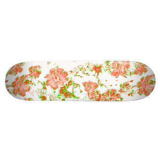 floral dreams 12 D Skate Deck