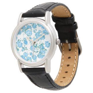 floral dreams 12 E Wristwatch
