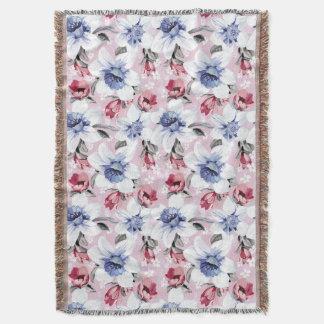 Floral Dreams #2 at Susiejayne Throw Blanket