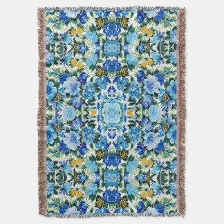 Floral Dreams #5 at Susiejayne Throw Blanket