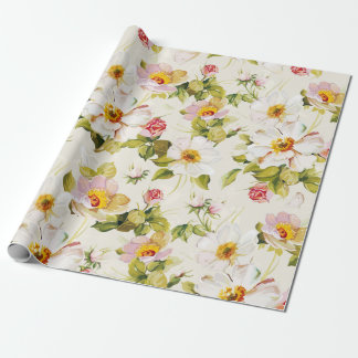 Floral Dreams #8 at Susiejayne Wrapping Paper