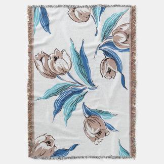 Floral Dreams #9 at Susiejayne Throw Blanket