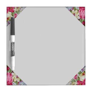 Floral-Dry Erase Board