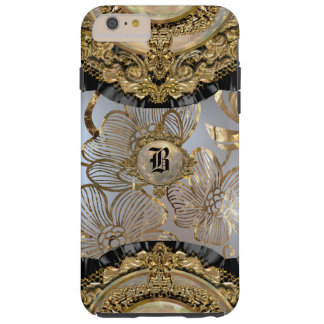 Floral Dusk Viva Monogram Plus Tough iPhone 6 Plus Case