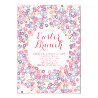 Floral Easter Brunch Dinner Party Invitation